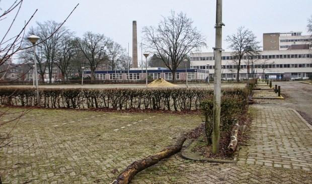 De sloop van het ziekenhuis wordt onder meer vertraagd door de vondst van asbest. Persbureau GinoPress © BDU media