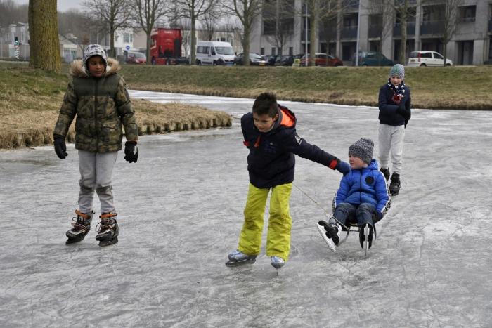 Genieten op natuur ijs