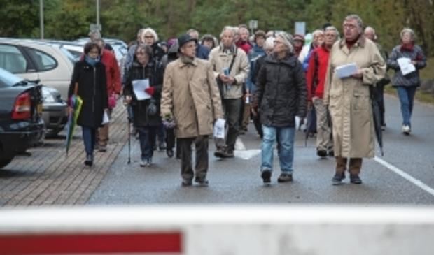 <p>Momentopname van een wake in Soesterberg, eind 2017. Die vindt elke eerste zondag van de maand plaats, al ongeveer vijftien jaar.</p>