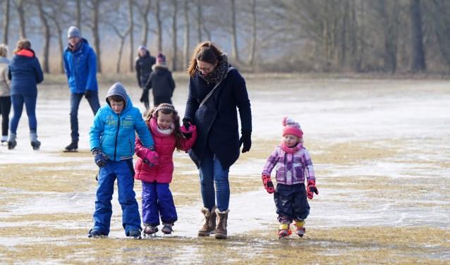 Lekker spelen op het ijs. Victor Schutijser © BDU
