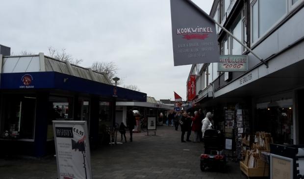 <p>Een deel van de winkels op het Burgemeester Winklerplein.</p>