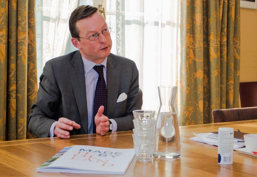 Directeur Floris de Gelder, het gezicht van paleis Soestdijk.
