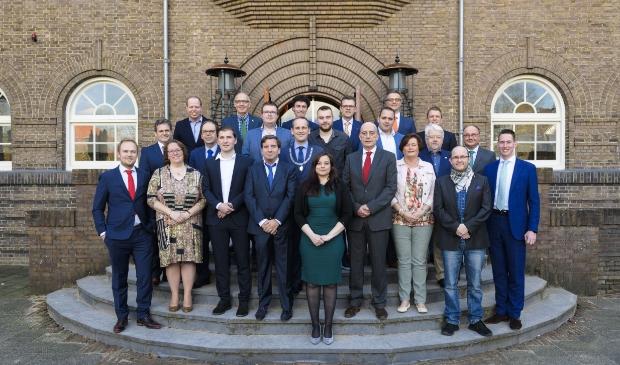 <p>De Gemeenteraadsleden van Sliedrecht</p>