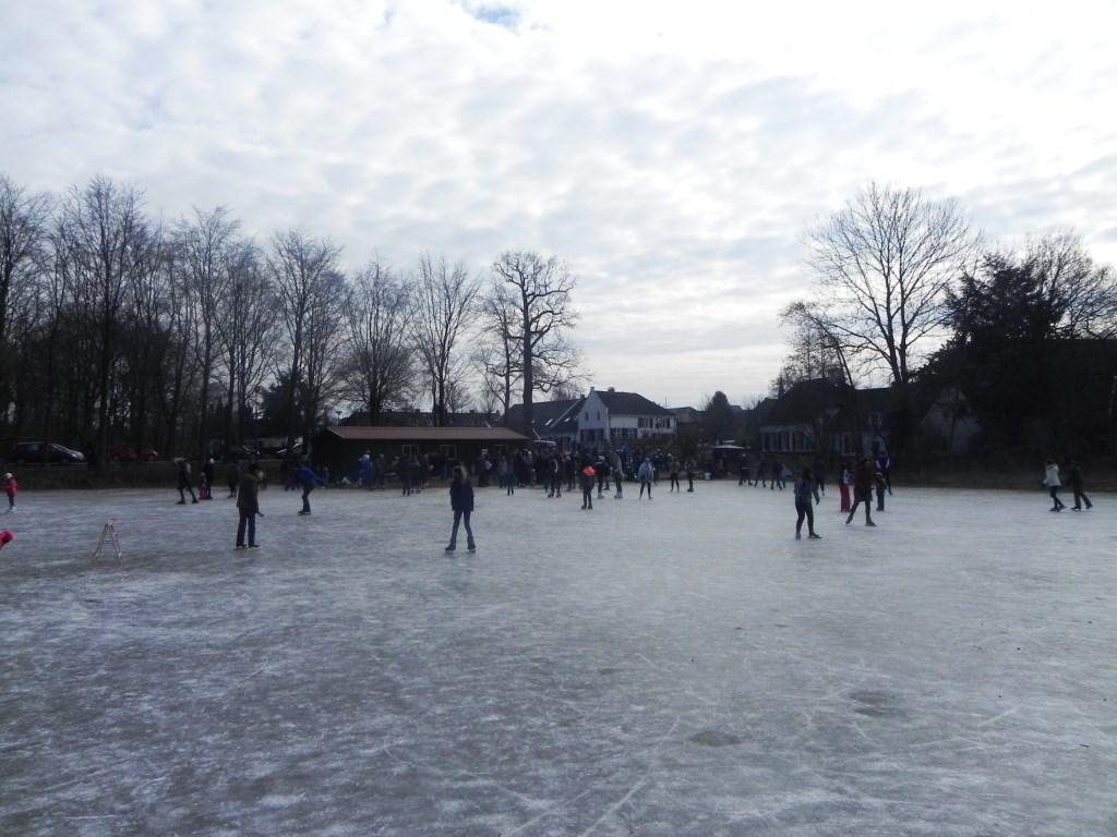 Van het ijs reed men zo de koek-en-zopie ruimte in.                                Richard Thoolen © BDU media