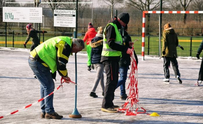 De vrijwilligers aan het werk Simon Kreijns © BDU media