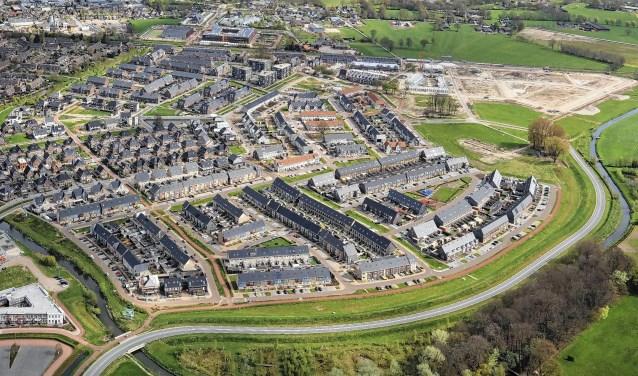 De Barneveldse nieuwbouwwijk Veller is bijna volgebouwd.