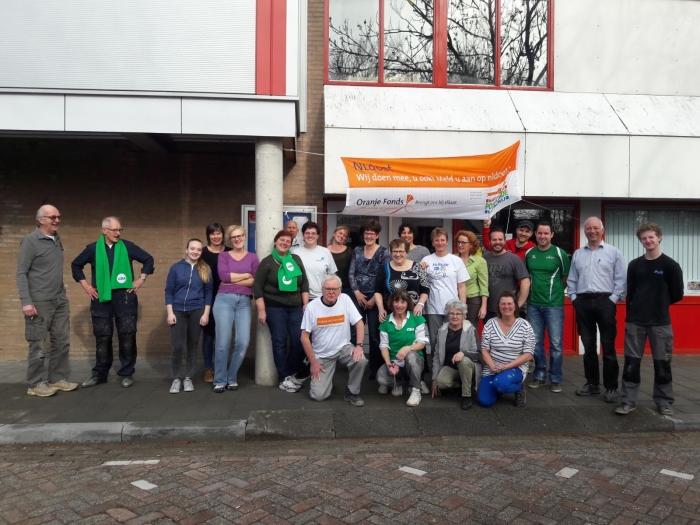 de actieve vrijwilligers van NLDoet 2018.
