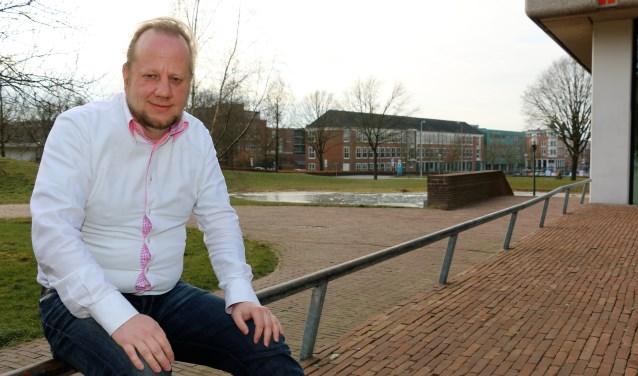 """Lijsttrekker Ruben van Druiten. ,,We hebben ons als Burgerbelangen aardig geprofileerd."""""""