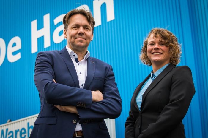 CEO Wouter Hijzen en directeur Madeline van der Rhee