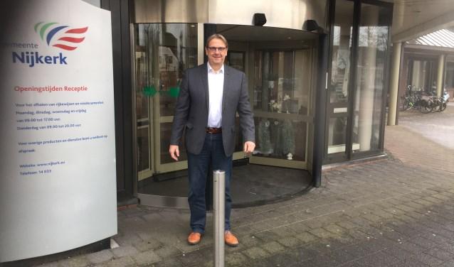 CDA-er Joop van Ruler kiest er voor deze deur door te blijven gaan.