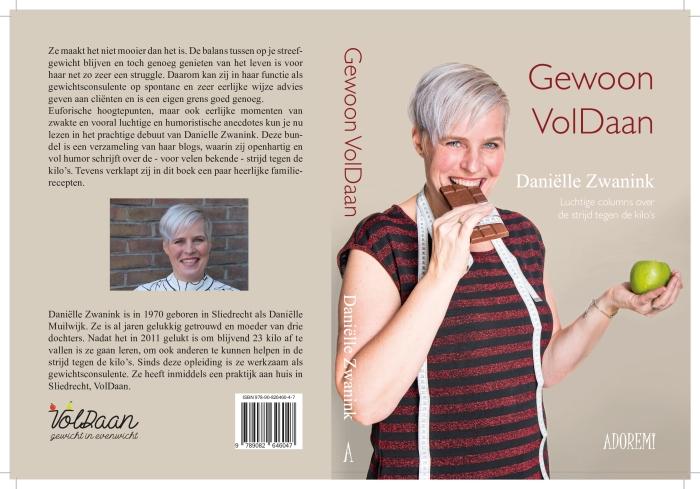 Boek 'Gewoon Voldaan' van Daniëlle Zwanink