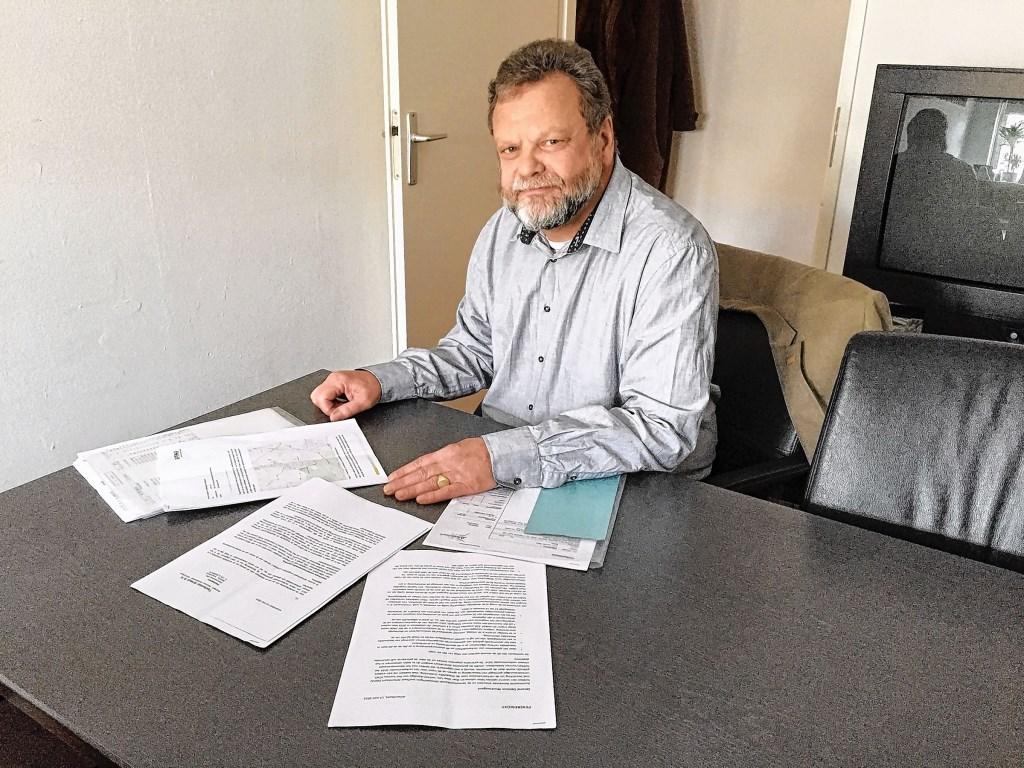 Peter de Langen van de Samenwerkende Groeperingen Leefbaar Amersfoort (SGLA). Stichting Regionaal Spitwerk © BDU media