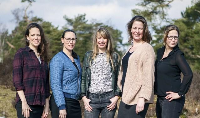 Wildgroeifestival door Lotte Bos, Barbara vd Sande, Jeanne vd Zee, Manon Scholten, Marjolein Schouten vd Velden-de Rijk