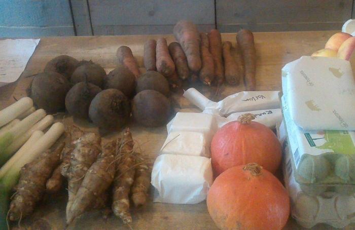 Lokale en duurzame ingrediënten bij de OPEN Eettafel over de Voedselagenda voor de Heuvelrug