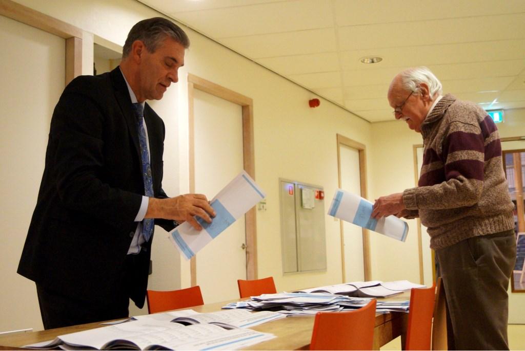 De gemeente Utrechtse Heuvelrug pastte een nieuwe telmethode toe, waardoor de uitslag eerder bekend werd dan normaal.  Marc Satijn © BDU