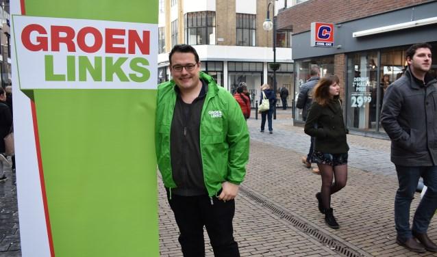 Rutger van Breemen (GroenLinks): 'We zijn niet alleen 'Groen', maar ook 'Links''