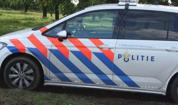 Willekeurige foto politieauto
