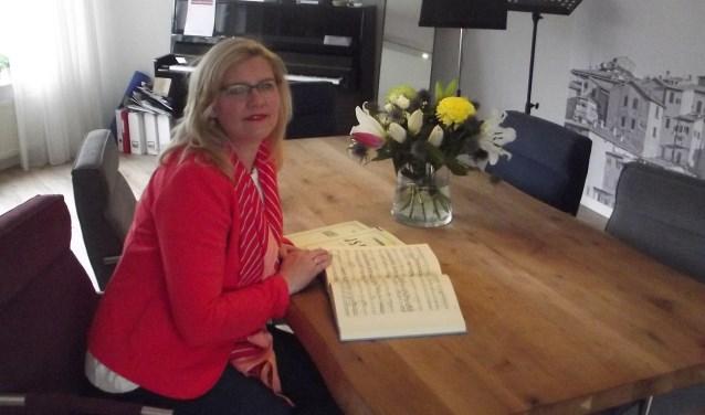 Annelies Schep geeft sinds een jaar les in haar eigen lespraktijk