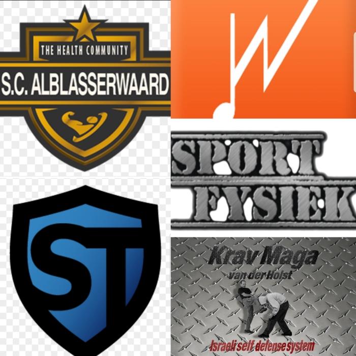Logo's van de deelnemende (sport)clubs.