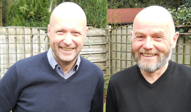 Alex Slavenburg en Bob Tempelman uit Driebergen.
