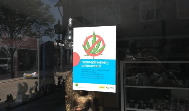 Het pand aan de Overstraat is tot nader order gesloten.