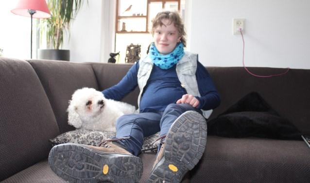 Leyla Kooi met Dolfje