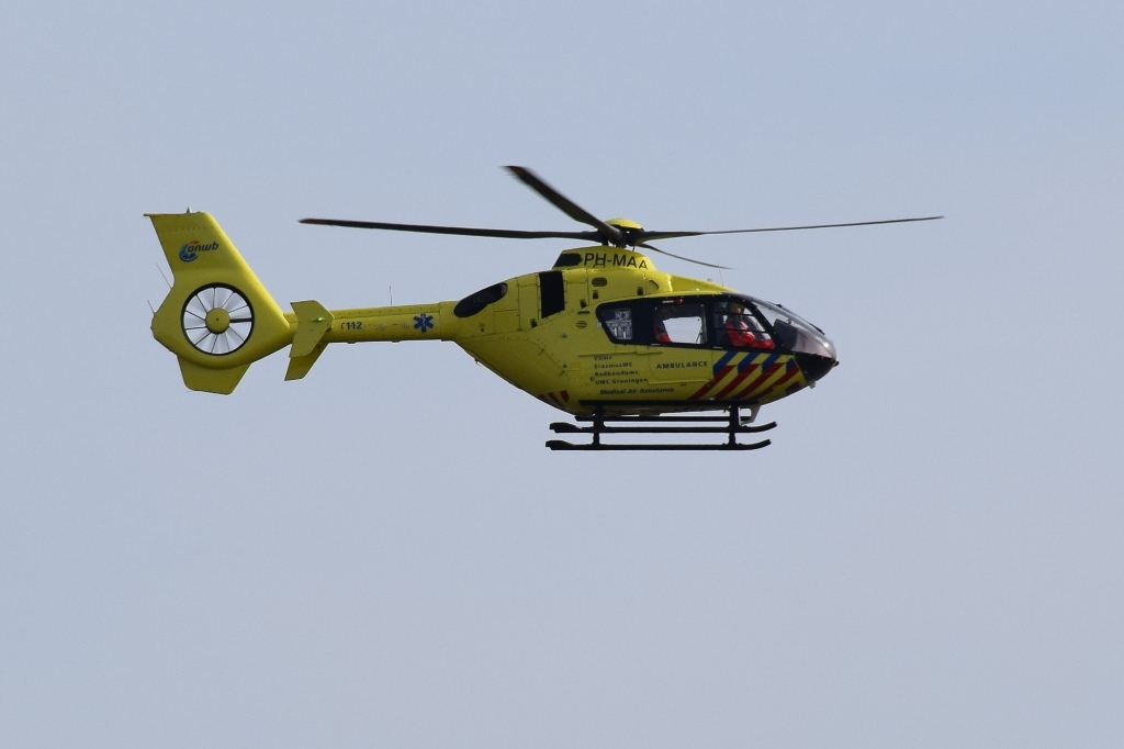 Traumahelicopter werd opgeroepen