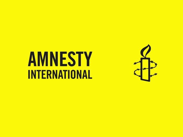 logo Amnesty ontwerp Amnesty © BDU