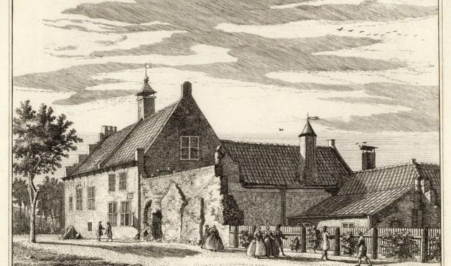 De Aelbertsberg, het jachtslot van de graven van Holland