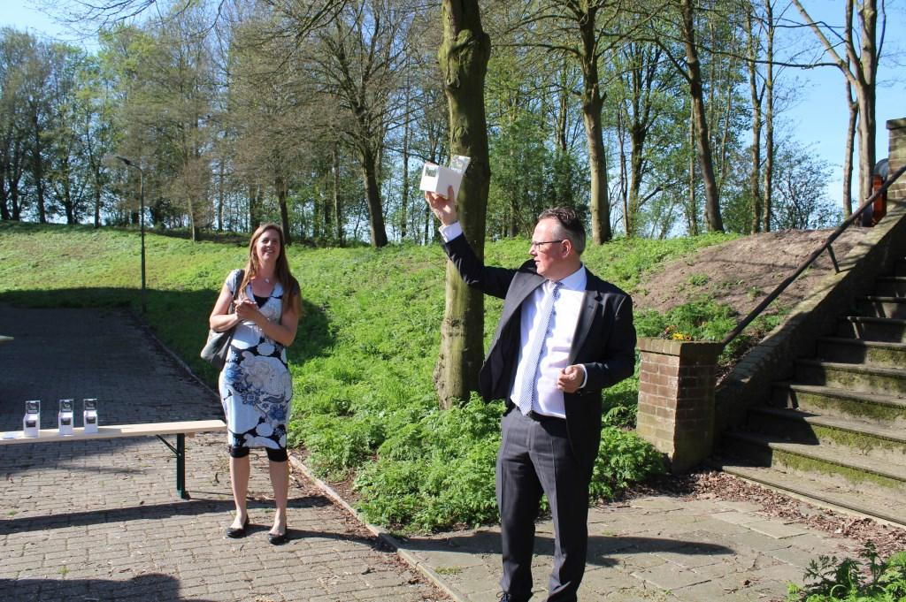 Herman Geerdes presenteert 'Er op uit! in Stelling van Honswijk' John van Amerongen © BDU media