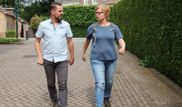 Maurice van der Valk en Anne Slingerland oefenen veel. Ook samen.