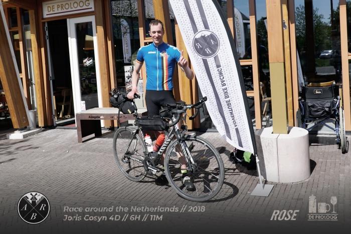 Joris Cosyn - winnaar Race around the Netherlands