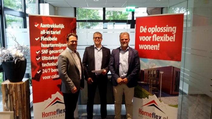 HomeFlex en Merwede/Multiplaat hebben een contract
