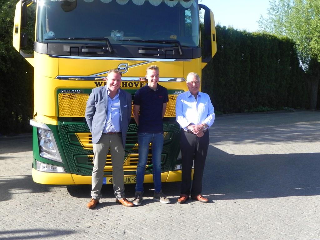 Drie generaties Veldhuizen (vlnr): Fred, Christiaan en Chris.                           Richard Thoolen © BDU media