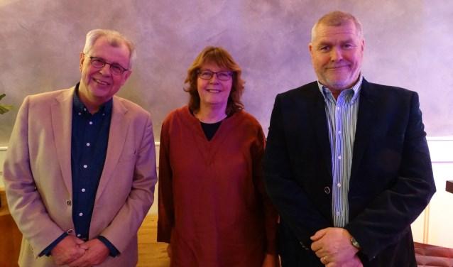 Hein Hoitink (Liberalen), Leny Visser (CDA) en Arie Viskil (P21) zijn als fractievoorzitters de sleutelfiguren bij de coalitievorming