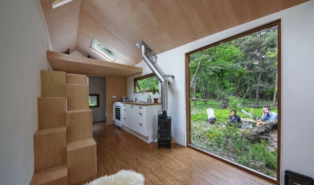 Annemarie Boerman denkt dat tiny houses in een grote behoefte zullen voorzien.