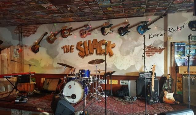 Het podium van The Shack staat de komende weken vol met muzikanten.
