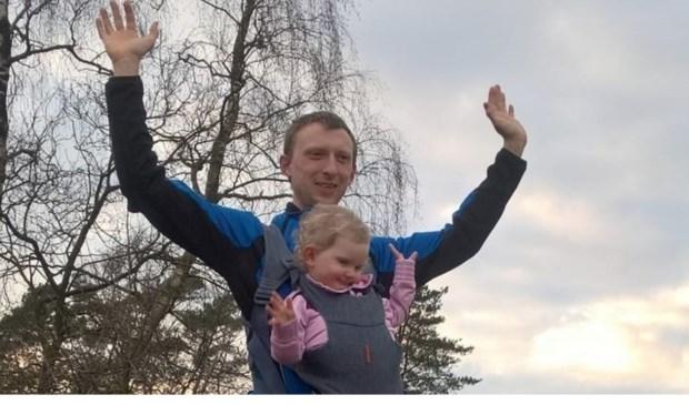 Andries Veldman en zijn dochter Lianne.