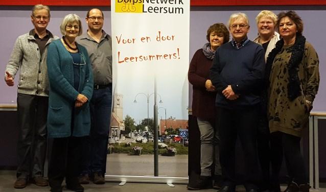 Wie gaat Dorpsnetwerk Leersum als vrijwilliger helpen bij het Informatiepunt Leersum?