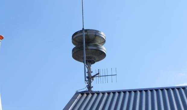 <p>Het luchtalarm te Werkhoven</p>