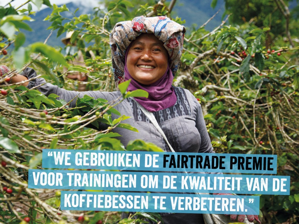 Internationale dag van Fairtrade Fairtrade © BDU media