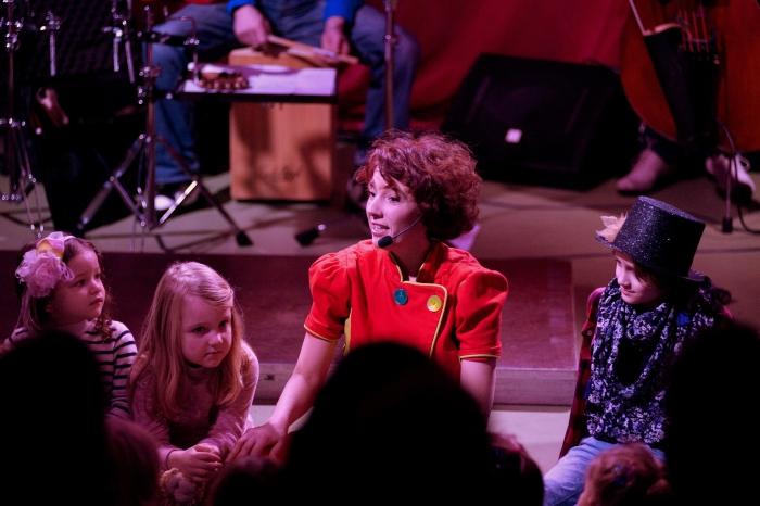 Jazz voor kinderen in De Observant met de Liedjestovenaar