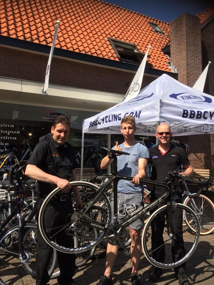 Dion van der Veer, Jasper Nijhuis en Johan Scholman