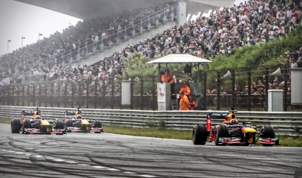 <p>Max Verstappen op het Circuit van Zandvoort.</p>