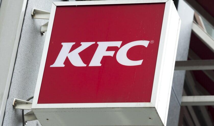 Het logo van KFC.