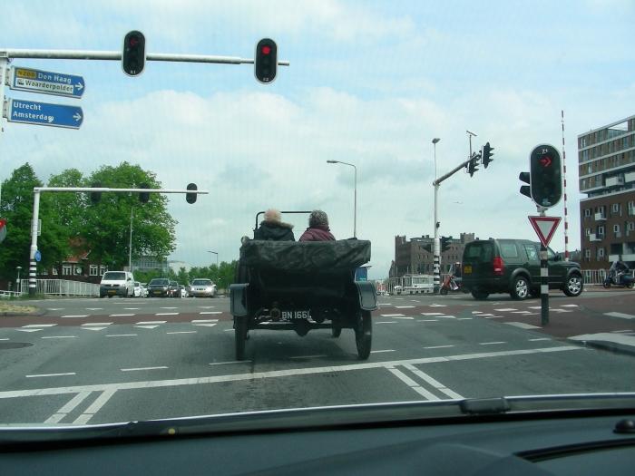 Een echte auto....