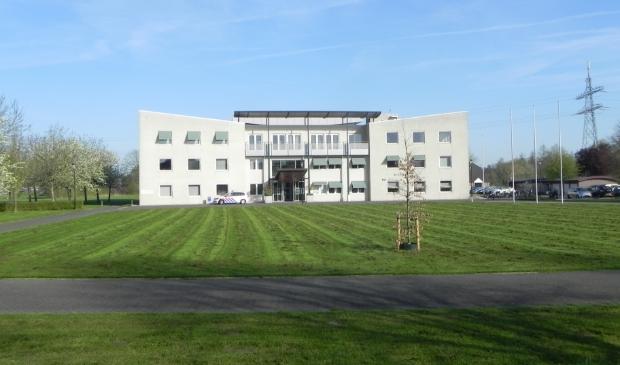 <p>Het gemeentehuis te Odijk</p>