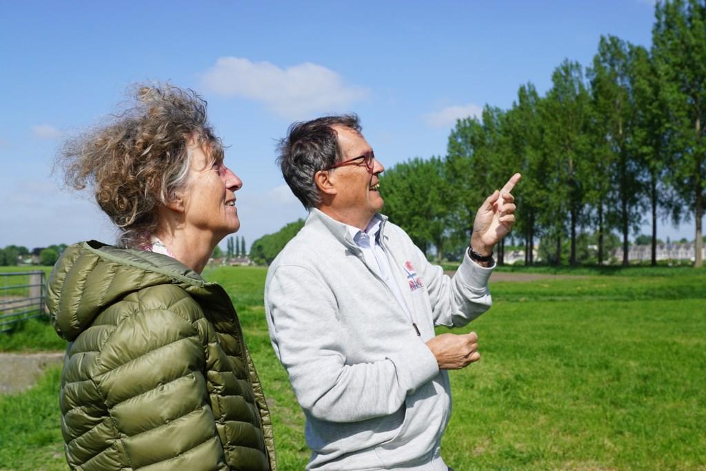Renske Peters en Hans Buijze van Stichting Beschermers Amstelland.  Naomi Heidinga © BDU media