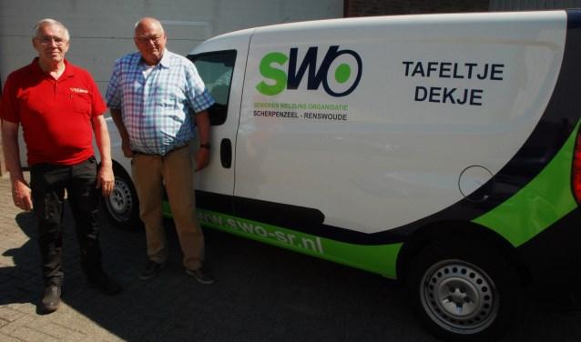 Vlastuin en Van Ginkel zijn chauffeurs voor Tafeltje Dekje.