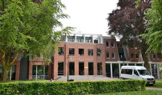 <p>Een deel van het plantsoen voor het Westhoffhuis in Lunteren.</p>